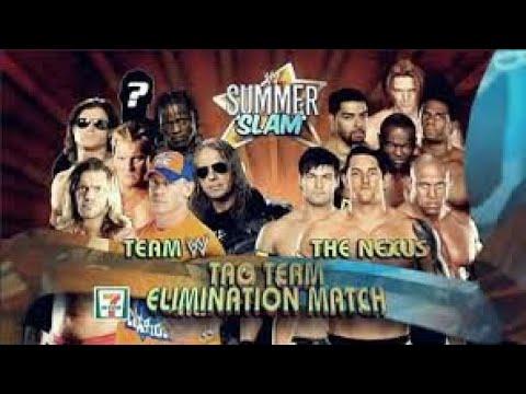 Wwe Nexus Vs John Cena Team فريق ج�...