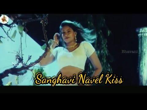 Sanghavi Navel Kiss Complitation