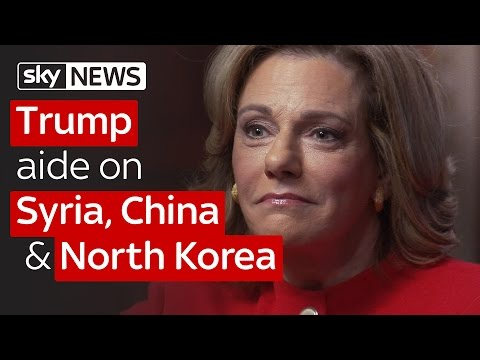 North Korea, Syria and China: Trump aide on President