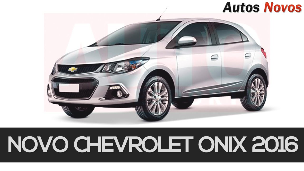 Novo Chevrolet Onix Autos Novos Youtube