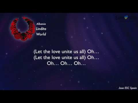 Lindita - World (Albania) [Karaoke Version]