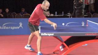 How To Forehand Flip | Killerspin Table Tennis