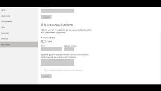 Yasaklı Sitelere Giriş 2016  (Proxy Değiştirme) (Windows 10)