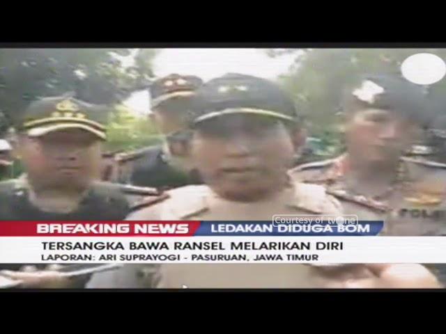 Ledakan Diduga Bom Terjadi di Pasuruan, Pelaku Melarikan Diri