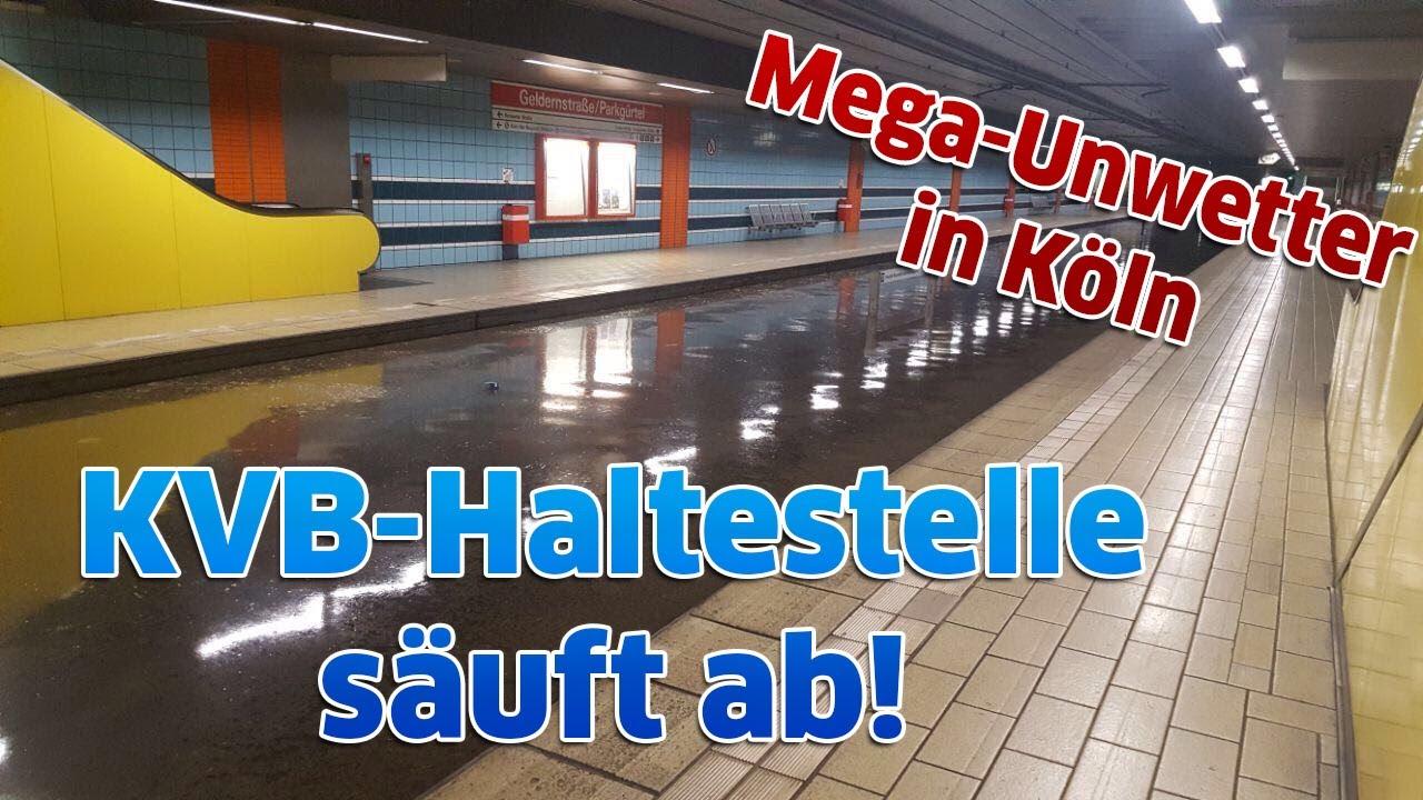 Köln Unter Wasser