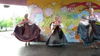 (kudesy)russia Novgorod Folklore-belt Dance