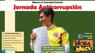 La Hora del NECIO: Crónica de la Jornada Anticorrupción. 26082018
