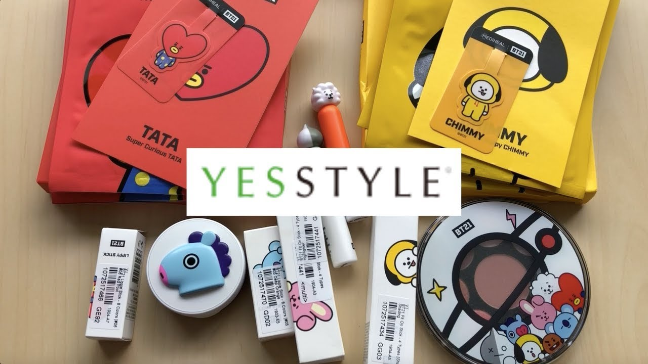 VT - BT21 Cosmetics from YesStyle♡♡