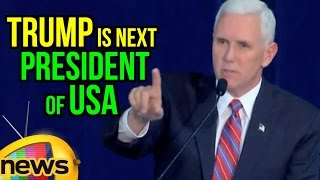 Donald Trump Is Next President To USA Says Governor Mike Pence In Scranton | PA | Mango News
