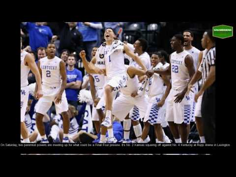 How to Watch Kentucky vs  Kansas College Basketball Live Stream Online