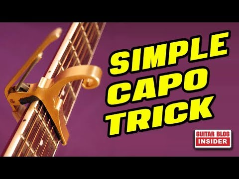 ▶ Simple Trick to End the Struggle of Fretting Chords