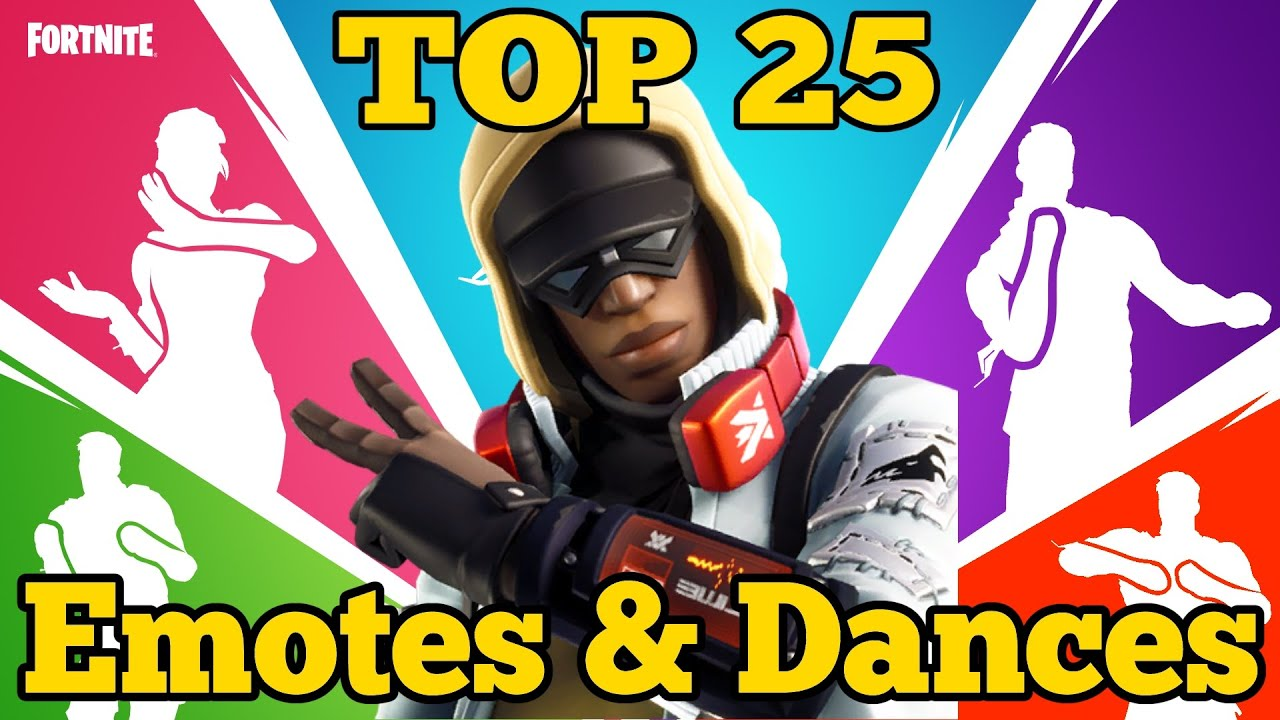 Fortnite Top 25 Emotes & Dances with Stratus Outfit Epic