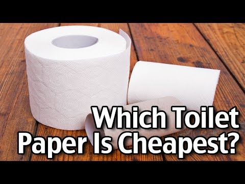 Which Toilet Paper Is Cheapest? We Compare Toilet Paper Brands!