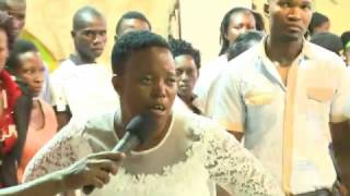 PROPHECIES: Marine spirit manifests in a Zimbabwean Apostle.