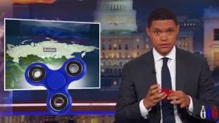 Американское шоу троллит спиннеры   НЕлюбимую игрушку Путина