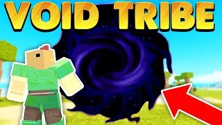 Fighting Tribes in the Void Dimension w/ Bandites (Roblox Booga Booga)