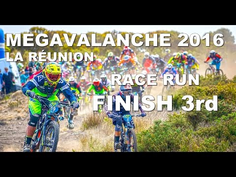 CRAZY Race Run - FINISH 3rd !!! Megavalanche 2016 La Réunion Island - CG VLOG #10