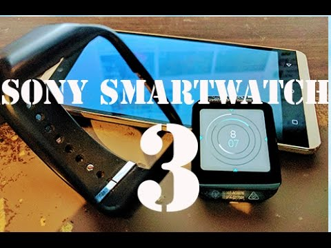 Sony Smartwatch 3 SW3 Honest User Review
