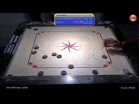 Abdul Rahman M Vs Youvan J M W Set 2 India Cements 58th Tamilnadu State Carrom 2017