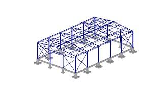 видео Строительство ангаров из металлоконструкций