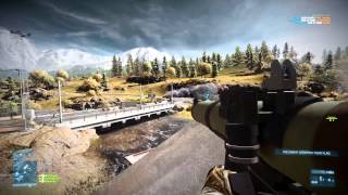 Battlefield 3: End Game PC Max Settings Gameplay GTX 680 SLI