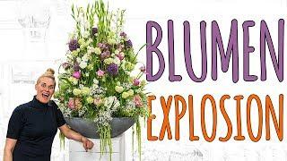 BLUMEN EXPLOSION - EIN ABEND MIT MIR IN DER BLUMENLADEN - VLOG