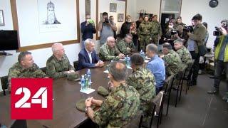 Вучич: оккупация севера Косово и Метохии продолжается уже неделю - Россия 24 