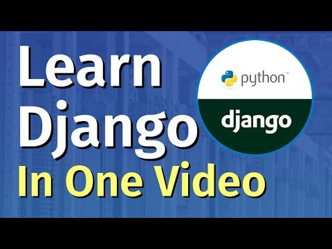 Python Django Tutorial (2021)   Full Course for Beginners