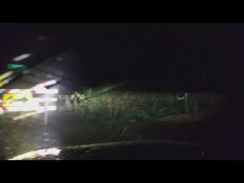 Flooded roads west of Burkburnett, TX