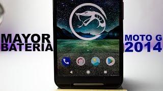 Instala la Mejor ROM  en BATERIA para Moto G 2014