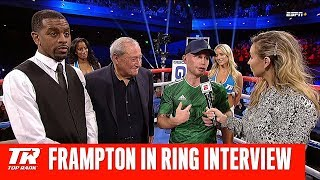 Carl Frampton Calls Out Jamel Herring in Post Fight Interview