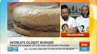 Two Mates Unveil The World's Oldest Burger! (FULL)