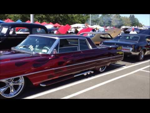 "CLASSIC VINTAGE ANTIQUE CARS ON DISPLAY AT ""BIKERS FOR BINI"" CARL V. BINI MEMORIAL FUND BENEFIT."