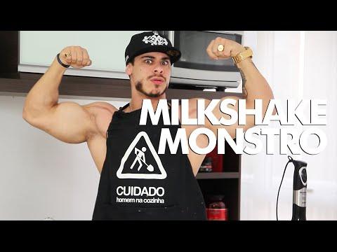 MONSTRO NA COZINHA - Milkshake Monstro