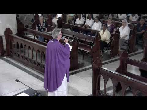 Lenten Retreat Mass by Fr Peter McIsaac