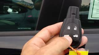 HOW TO USE THE KEY LESS ENTRY SYSTEM ON A SAAB