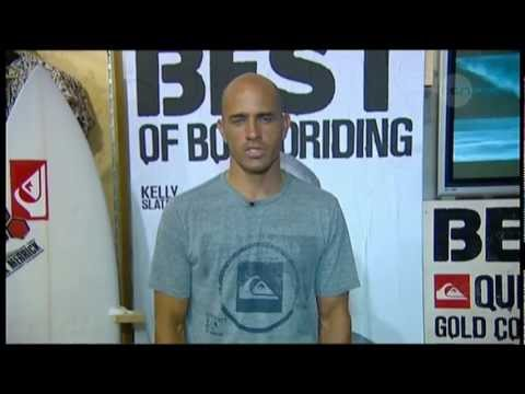 Kelly Slater interview on The Project (2012)