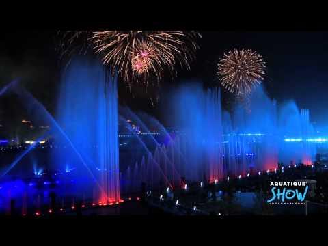 Shanghai Expo 2010 Opening Ceremony - Aquatique Show International