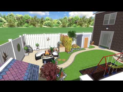 "3D Garden design  in Dundalk Co.LOUTH  by ""WATERWELL"" Patio & Paving Centre"