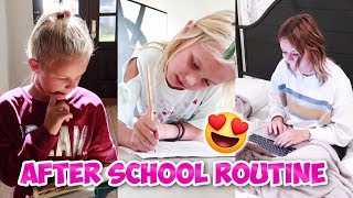 AFTER SCHOOL ROUTINE WITH 4 KIDS | THE LEROYS