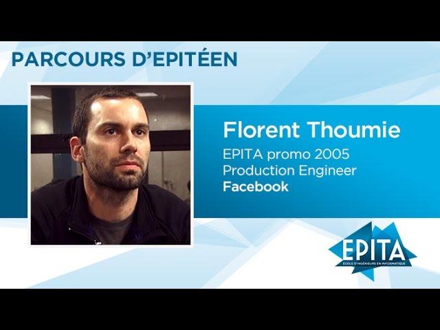 Parcours d'Epitéen - Florent Thoumie (promo 2005) - Facebook