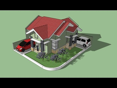 Sketchup Tutorial House Building