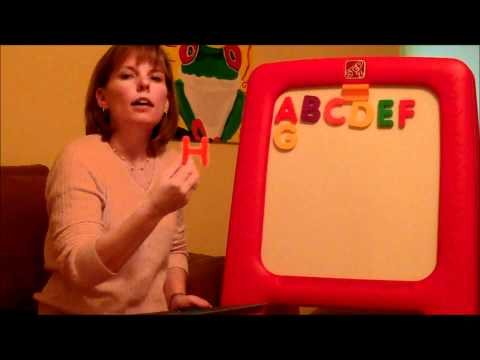 How to teach a child to read: Letter Sounds