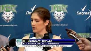 Minnesota Lynx Media Day 2012 - Lindsay Whalen