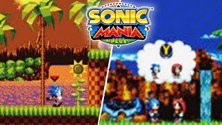 CHARACTER SWITCHING CONFIRMED FOR SONIC MANIA PLUS! ENCORE MODE FULL DETAILS & MORE