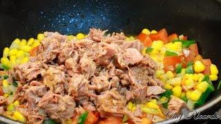 Vegetable Tuna Dish - (Jamaican Chef) | Recipes By Chef Ricardo