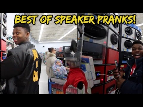 BEST OF WALMART SPEAKER PRANKS!