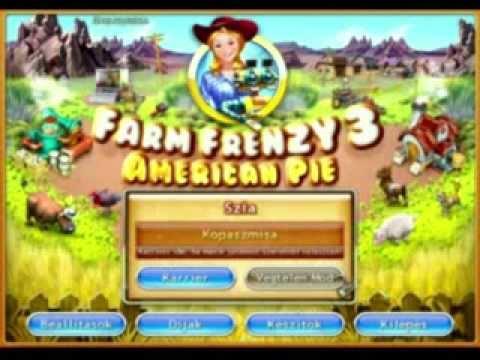 Farm Frenzy 3-American Pie - En+Hun-Magyarosítással-Pc game