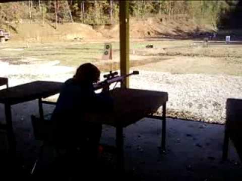 Michael Wahl shoots a Barrett M99 .50 Cal