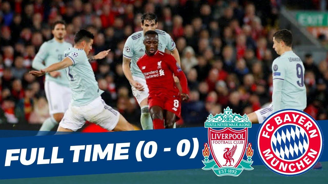 Liverpool 0 vs 0 Bayern Mnchen Uefa Champions League